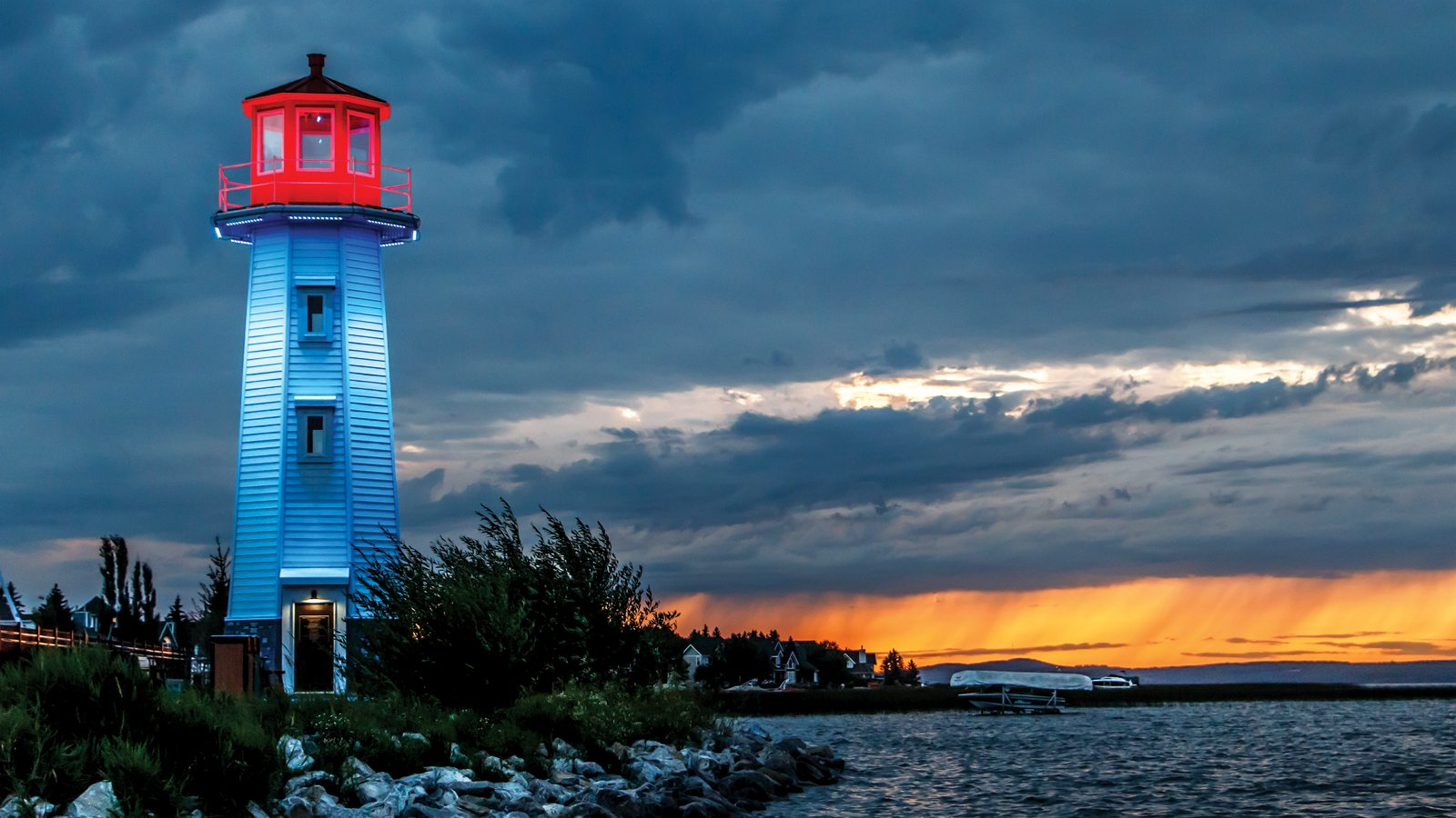 The Lovely Sylvan Lake Lighthouse Ama