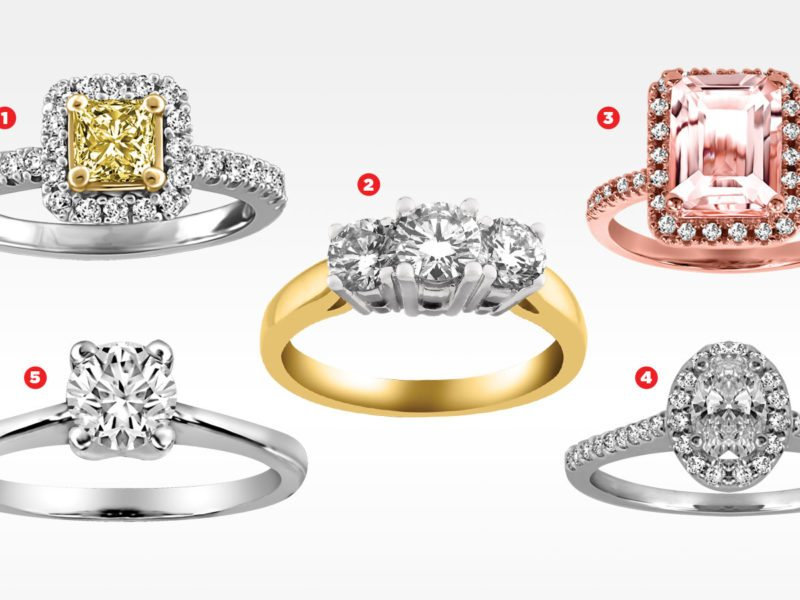 Save on These 2018 Engagement Ring Trends