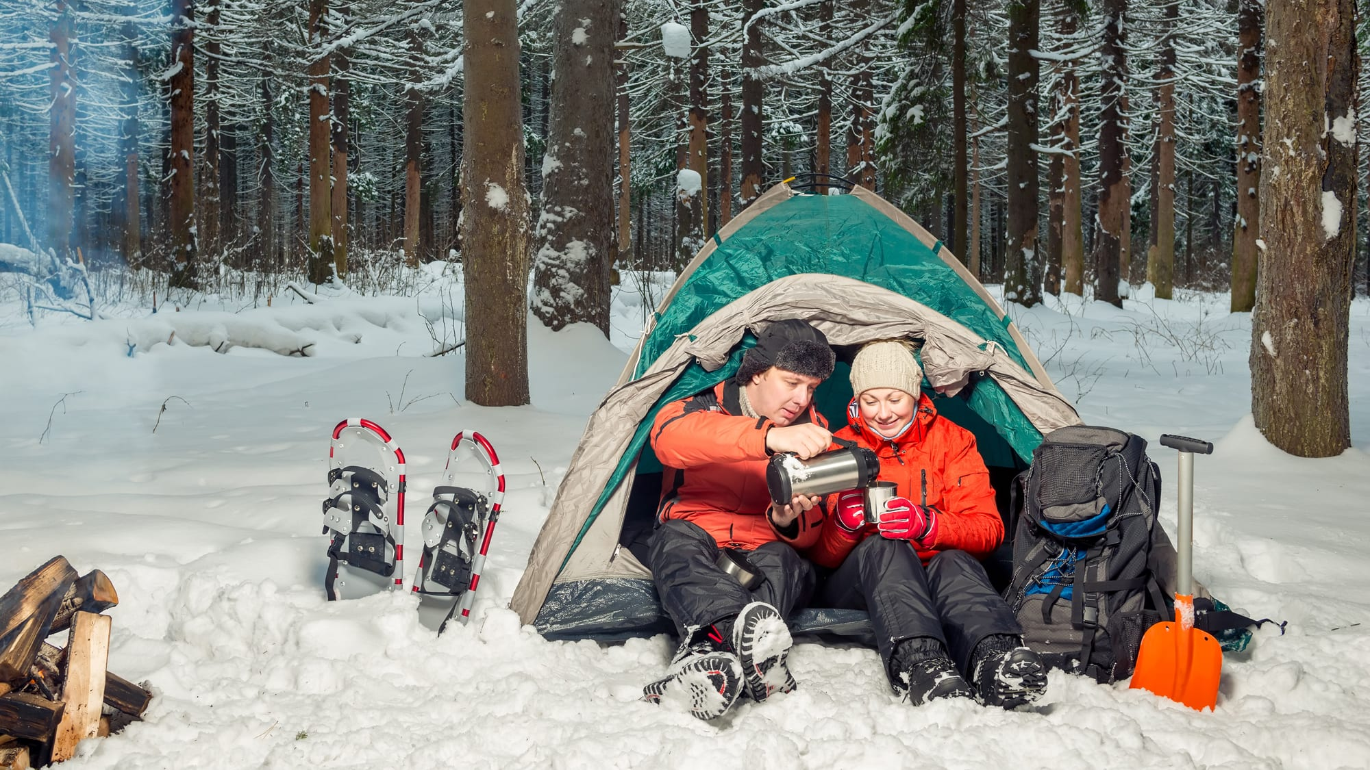 How to Keep Warm on an Alberta Winter Camping Trip - AMA