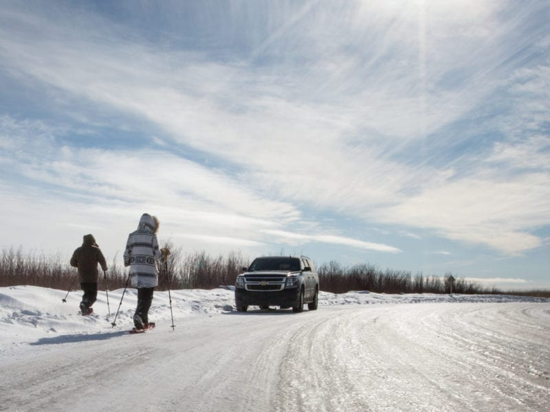 Alberta Ice Roads Link Vibrant Communities and Natural Wonders