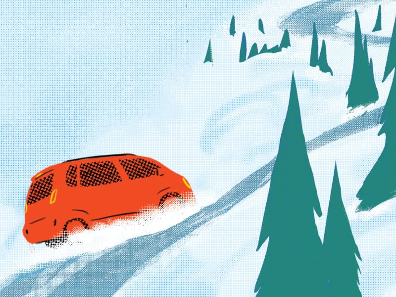What to Do (and What Not to Do) if Your Car is Stuck in the Snow