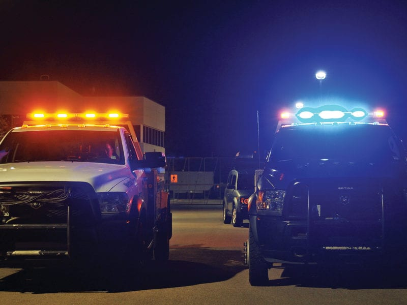 Blue Lights on Tow Trucks: How They Can Boost Road Safety