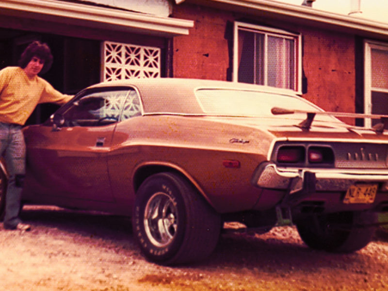 Gold paint, a white interior and a CB radio: An AMA member's first car